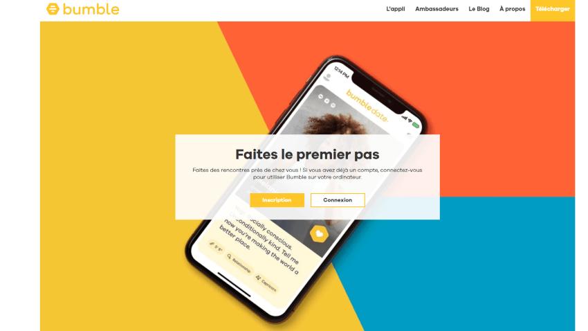 Bumble France Screenshot