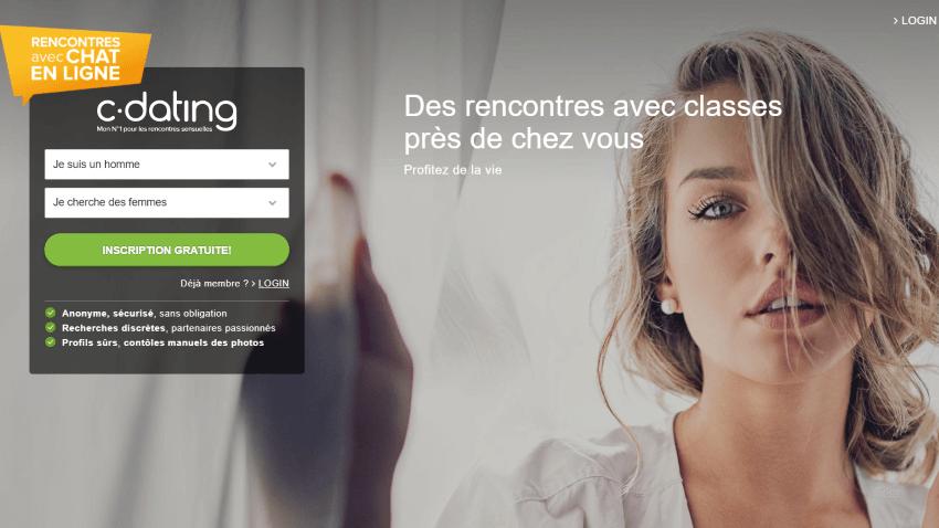 c_dating Landing Page