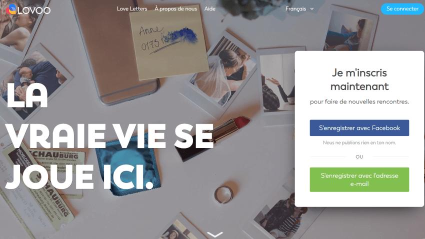 Lovoo France Homepage